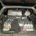На границе с Беларусью задержали украинской водки на 10 тысяч