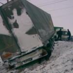 В Рожищенском районе автомобиль перевернулся возле железнодорожного переезда