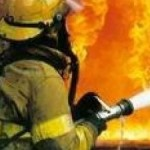 На Волыни отец спас во время пожара своего сына