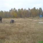 Волынские прикордронники задержали краденый мотоцикл