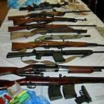 В Ягодине изъяли 14 контрабандных винтовок
