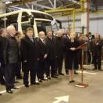 Юлия Тимошенко пообещала вывести Луцкий автозавод из кризиса