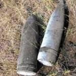 Волыняне нашли 3 артиллерийские боеприпасы времен войны