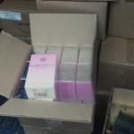 Волынянин вез из Польши более 1 тысячи упаковок духов